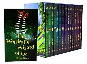 The-Wizard-of-Oz-15-Books-Collection-Boxed-Set-Ozma-Of-Oz-Marvellous-of-Oz-etc