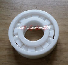 6802 Full Ceramic Ball Bearings ZrO2 15x24x5mm Zirconia Oxide PTFE Skateboard