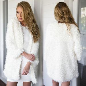 Women-Faux-Fur-Loose-Tops-Sweater-Long-Sleeve-Cardigan-Outwear-Coat-Jacket-Hot