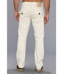 cd5a6afa2  328 NEW TRUE RELIGION JEANS Mens 32 x 34 Ricky Super T Straight Off ...
