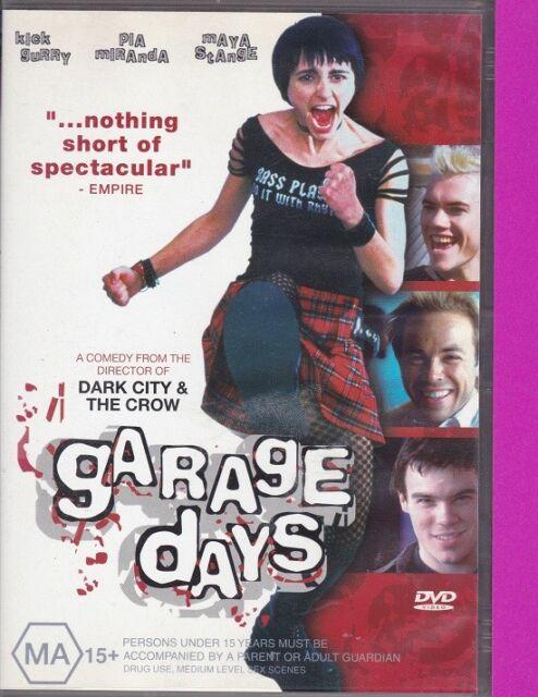 Garage Days (2g, DVD, 2004, Region 4) Kick Gurry, Pia Miranda, Maya Stange