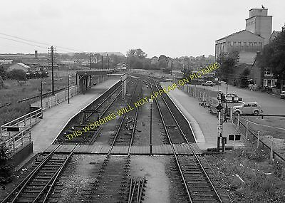 Sandy Line 10 Bedford to Willington Bedford St Johns Railway Station Photo