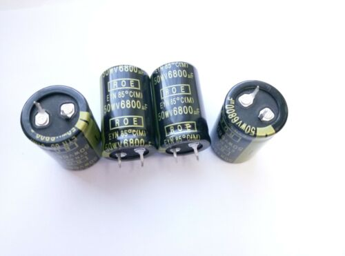 Genuine Roederstein EYN 6800uF 50V  electrolytic Capacitor Snap-in 85 °C 4 pcs