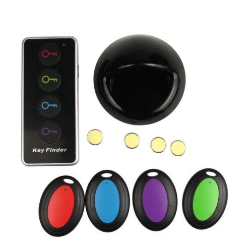 4pcs Empfänger 40M LED Wireless Keyfinder Funk Schlüsselfinder