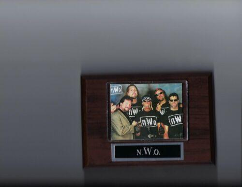 n.W.o PLAQUE WRESTLING WWE WWF NWO