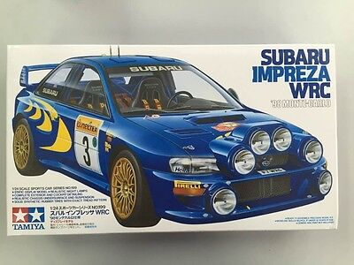 Die cast 1//43 Modellino Auto Subaru Impreza WRC Rally Monte Carlo 1998 C.McRae