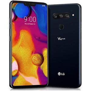 LG V40 ThinQ 64GB Black Unlocked Smartphone LM-V405QA7USABK QHD & OLED Screen