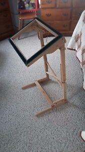 Image Is Loading Rug Hooking Frame Floor Model Solid Oak By