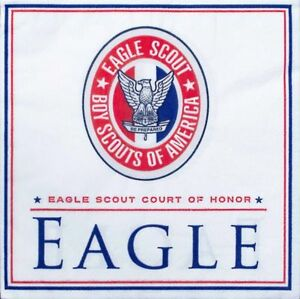 Boy-Scout-Official-Eagle-Scout-Court-of-Honor-50-Dessert-Napkins-Red-White-Blue