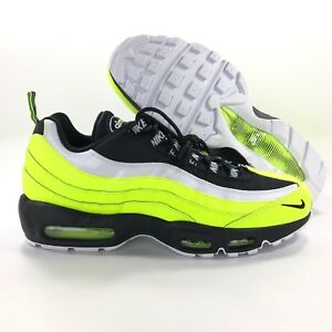 sports shoes cca64 09f9a Image is loading Nike-Sportswear-Air-Max-95-PRM-Volt-Green-