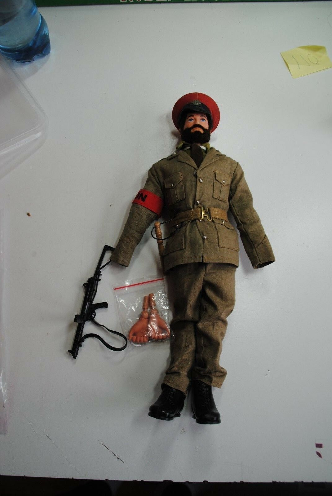 ACTION MAN  PALITOY VINTAGE ACTION TEAM   MILITAIR POLICE     NICE  FIGURE