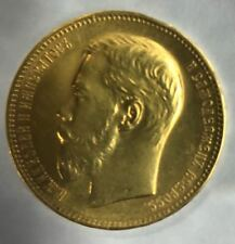 RUSSIA 100 Francs 37.5 Rubles 1902  Extremely rare mintage 225 pcs gold