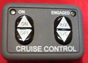 Rostra 250-1223 Universal Electronic Cruise Control Kit,3592 LED Dash Switch