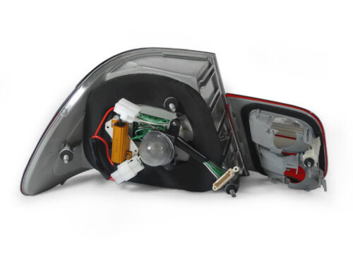 DEPO OEM Replacement Red//Smoke LED Tail Light Lamp For 2004-06 BMW E46 2D Coupe