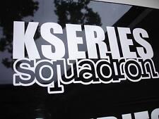 K Series Squadron Sticker Decal K20 K24 Civic Accord