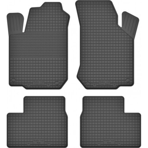 Gummimatten Fußmatten 1.5 cm Rand OPEL CORSA A 1982-2006 C B 4-teile Set