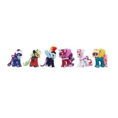 Hasbro 6 My Little Pony Power Ponies Set Hard To Find For Sale Online Ebay