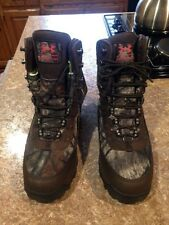 UNDER ARMOUR WOMEN'S BROW TINE MOSSY OAK HUNTING BOOTS SIZE 9  NWOB MSRP $199