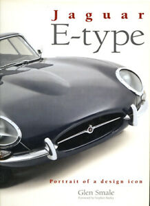 Jaguar-E-Type-Portrait-of-Design-Icon-AUTOGRAPHED-G-Smale-NEW-Scratched-Cover