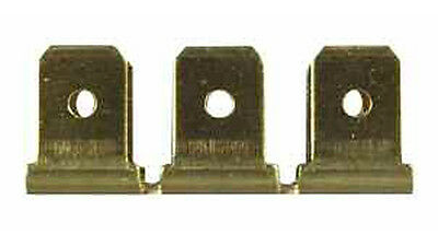 Electrical Components Durite 0-011-22 Terminal 6.30mm Blade with Lock Tag Pack of 10
