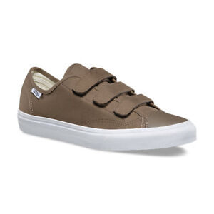 d50b7cdee269a Vans Style 23 V 3 Walnut True White Canvas Shoes With Straps New In ...