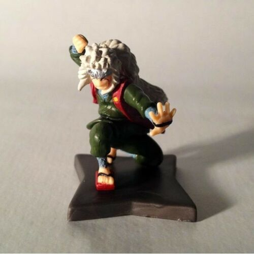 Jiraiya-gashapon full color-mini figure naruto