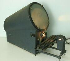 Microvu Model 400 Optical Comparator Machine Inspection Measurement Working