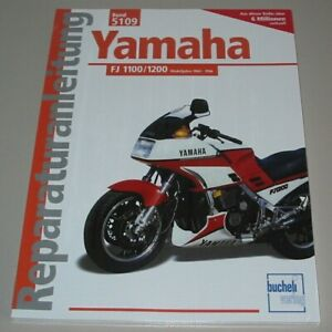 Reparaturanleitung-Yamaha-FJ-1100-1200-Modelljahre-1984-1996-Bucheli-Buch-NEU