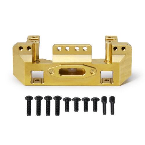 118g Heavy Brass Weights Front Bumper w//Servo Mount For 1//10 RC Car Traxxas TRX4
