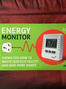 EAGA Energy Monitor New In Box Never Used No Batteries Included.