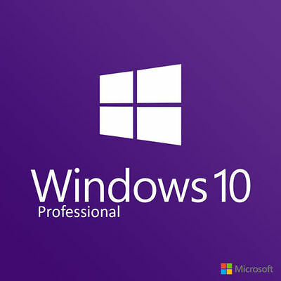 ORIGINAL WINDOWS 10 PRO 32 / 64BIT OEM ORIGINAL LICENSE KEY SCRAP PC