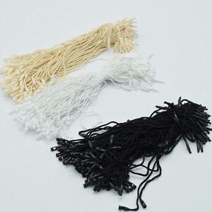 980pcs-lot-Good-quality-Cotton-Hang-Tag-String-Snap-Lock-Pin-Loop-Fastener-Ties