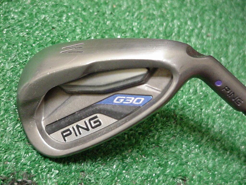 Bonito lanzamiento Wedge Ping G30  PW púrpura punto TFC 419 I Grafito Regular Flex  Ahorre 60% de descuento y envío rápido a todo el mundo.