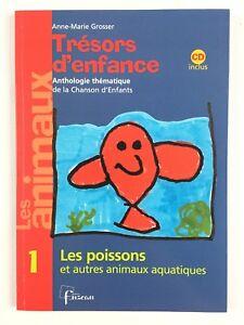 Details Sur Tresors D Enfance 1 Les Poissons Cd Livre Musique Chansons Enfant Fuzeau