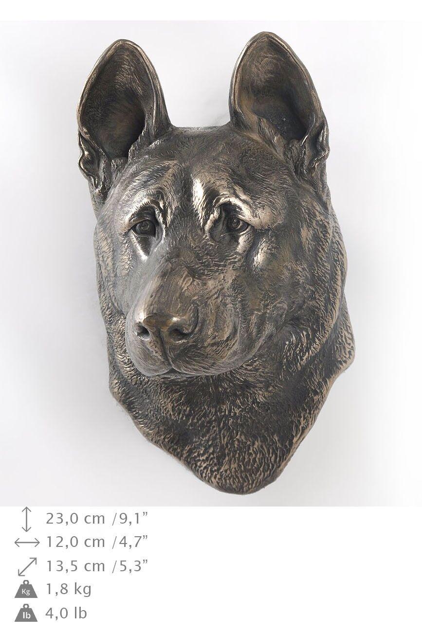 Pastore tedesco - statua del cane per appendere al muro, Art Dog IT