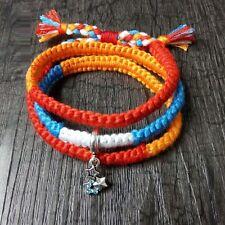 Anime Bracelet.Your name.Makoto Shinkai.Miyamizu Mitsuha.taki.Hand braided rope.