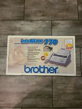 Brother Intellifax 770 Home Office Fax Machine Copier With Answering Machine