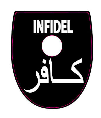 FITS SIG P320//P250 INFIDEL WHITE Mag Base Plate STICKERS  Set of 6