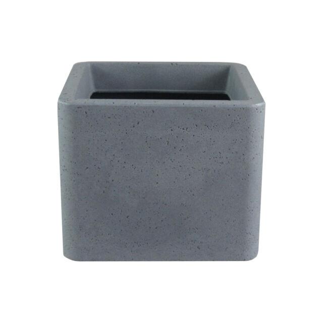 Scheurich 140-4042 Cube 40cm Betonlook 1 Stück zementgrau