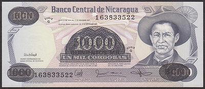 NICARAGUA P 163 500,000 CORDOBAS on 20 CORDOBAS