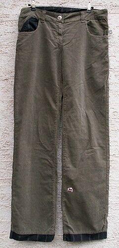 E9 Kletterhose Rita für Damen, Gr. L, Grün Grün Grün b4b47d