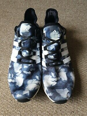 adidas CC ClimaChill Gazelle Boost Mens Running Trainers Shoes -Black White Grey   eBay