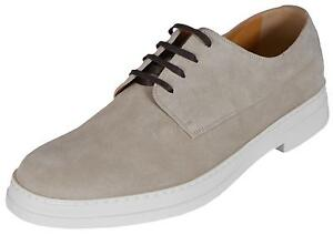 cd8e48d1335 NEW Gucci Men s 407297 Queen Oatmeal Taupe Suede Lace Up Oxford ...