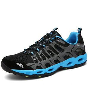 2e17b32974ed Image is loading Men-Fashion-Wearable-Running-Hiking-Shoes-Breathable-Non-