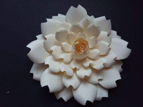 Giant Paper Flower 3-D Walls Decor Backdrop Wedding Rose Party Nursery 12 Colors