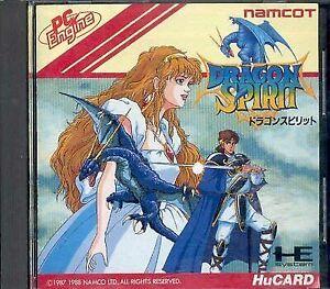 NEC PC Engine HU Card Dragon Spirit Factory Namco Japan