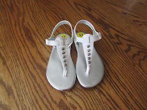 Michael Kors BELLO Girls White Sandals