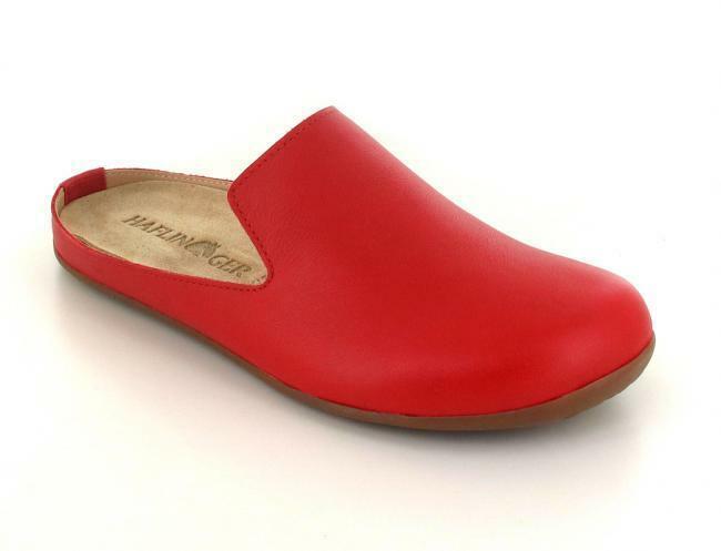 Haflinger everest casa señora zapato pantufla sandalia es clog 488038 teja
