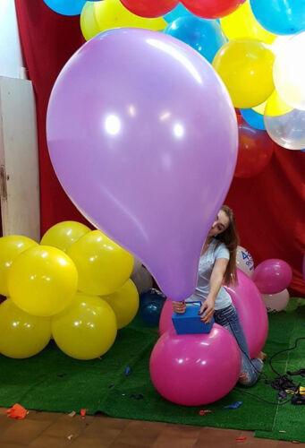 4x 36-40 inch Jumbo China *Gemischte farbe* big balloon riesen luftballon looner