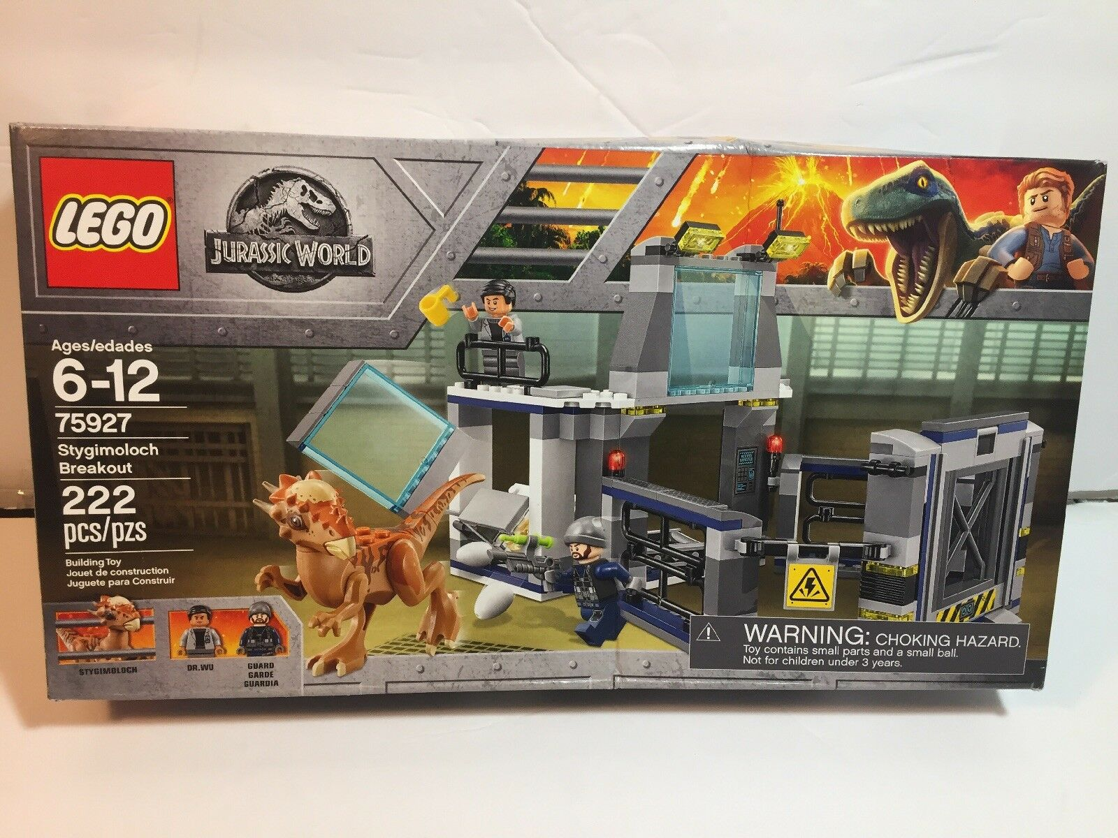 Lego 75927 Stygimoloch Breakout .. BOX HAS WEAR